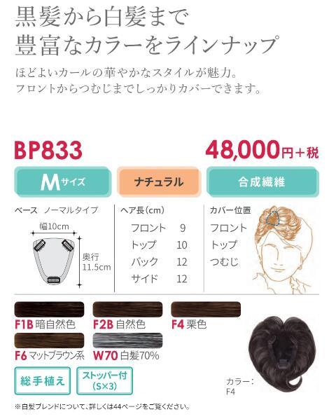 【送料無料】フォンテーヌ トップピース BP833