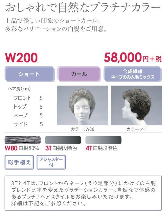 【送料無料】フォンテーヌ ウィッグ W200