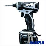 【TD134DRFXW】【送料無料】マキタ 充電式インパクトドライバ 白 TD134DRFXW【DIY】【工具のMARUI】