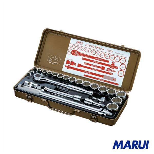 エビ ソケットレンチセット 差込角12.7mm 12角 1個 1218A 【DIY】【工具のMARUI】