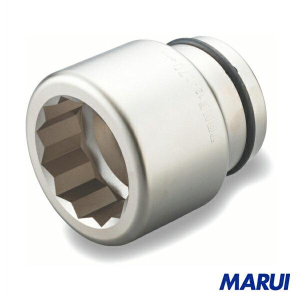 TONE インパクト用ソケット(12角) 120mm 1個 12AD-120 【DIY】【工具のMARUI】