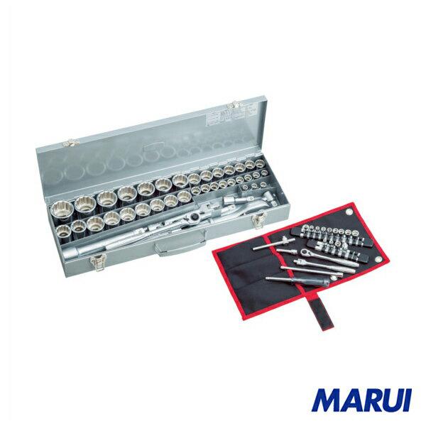 TONE ソケットレンチセット(フルセット) 1S 146 【DIY】【工具のMARUI】