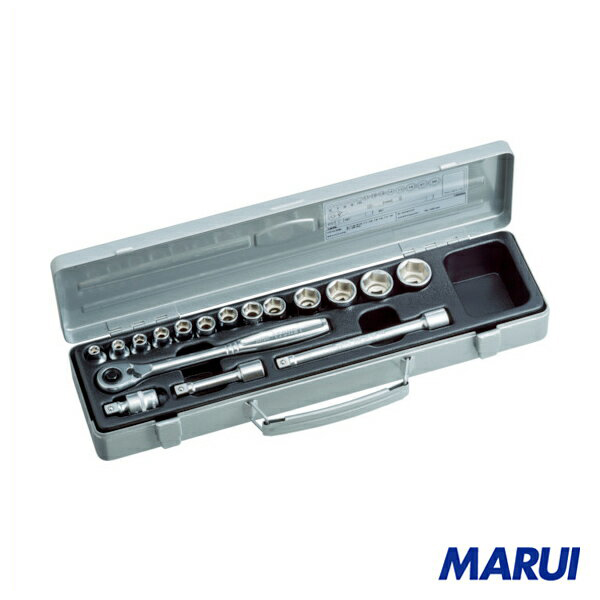 TONE ソケットレンチセット 1S 1560MS 【DIY】【工具のMARUI】