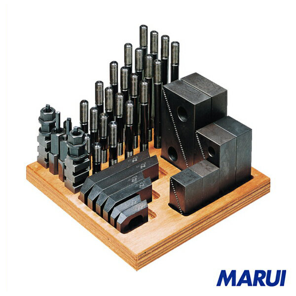 スーパーツール ステップクランプキット(M14、T溝巾16) 1S 1614-CK 【DIY】【工具のMARUI】