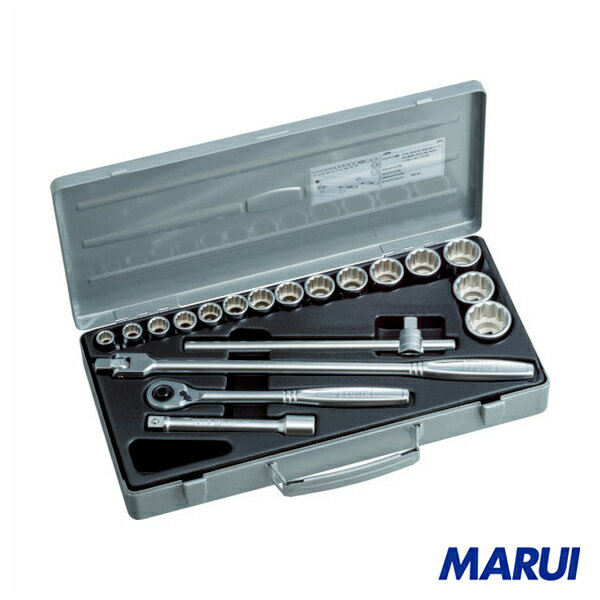 TONE ソケットレンチセット 吋目 1S 260 【DIY】【工具のMARUI】