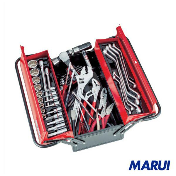 TONE ツールセット(ヘキサゴンタイプ) 57pcs 1S 【DIY】【工具のMARUI】