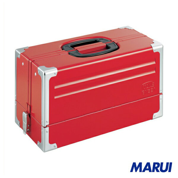 TONE ツールケース(メタル) V形3段式 433X220X240mm 1個 BX331 【DIY】【工具のMARUI】