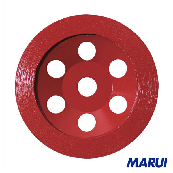 エビ ダイヤモンドカップホイール オフセットタイプ 1枚 【DIY】【工具のMARUI】