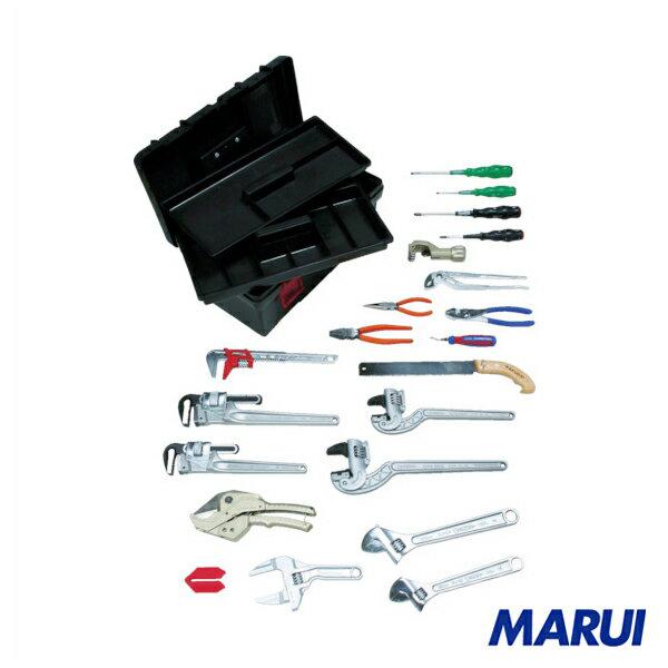 スーパー プロ用配管工具セット(スタンダードタイプ) 1S H4000S 【DIY】【工具のMARUI】
