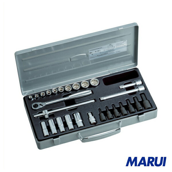 TONE ミックスソケットレンチセット 1S MX300 【DIY】【工具のMARUI】