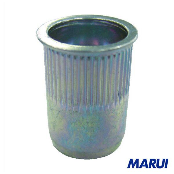エビ ローレットナット Kタイプ スティール 8-3.2 (1000個入) 1箱 NSK8MR 【DIY】【工具のMARUI】
