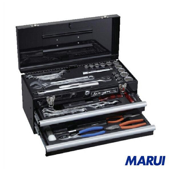 スーパー   プロ用デラックス工具セット(2段引き出し) 1S 【DIY】【工具のMARUI】