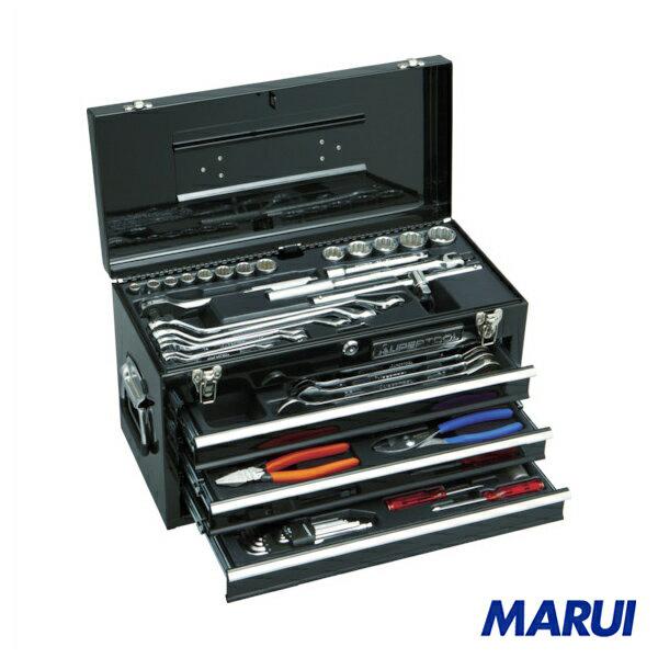 スーパー プロ用デラックス工具セット(チェストタイプ) 1S S7000DX 【DIY】【工具のMARUI】