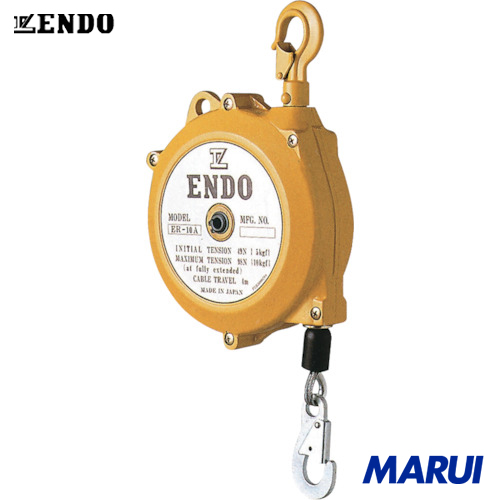 ENDO トルクリール ラチェット機構無し ERー10B 4m 1台 遠藤工業 電動工具 油圧工具 ツールバランサー 【DIY】【工具のMARUI】