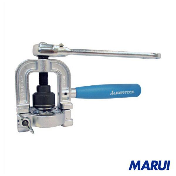 スーパー フレキ管ツバ出し工具(ラチエットハンドル式) 1台 TH406R 【DIY】【工具のMARUI】