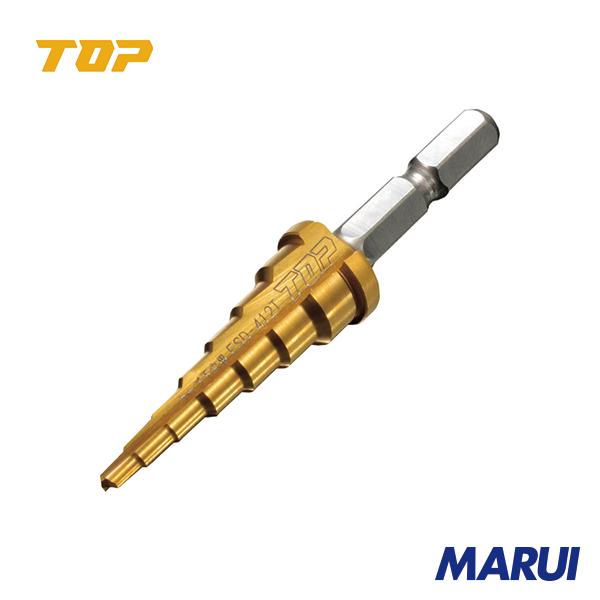 タップの下穴専用のステップドリルです TOP 売却 電動ドリル用タップ下穴用ステップドリル 1本 ESD412T 激安セール 工具のMARUI DIY