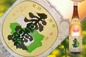 s【送料無料6本入りセット】(熊本)香露 上撰本醸造 1800ml