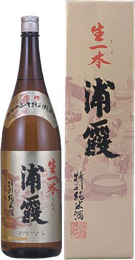 s【送料無料6本入りセット】浦霞 特別純米酒 生一本 1800ml カートン入り