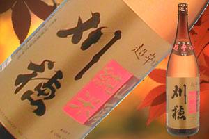 s【送料無料6本入りセット】刈穂 山廃純米超辛口+12 1800ml