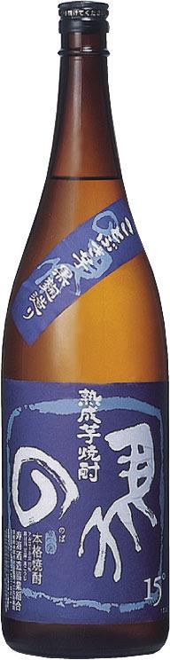 s【送料無料6本入りセット】(宮崎)熟成芋焼酎 の馬(のば) 15度 1800ml