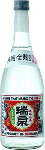 s【送料無料12本入りセット】瑞泉 新酒 赤ラベル 25度 720ml