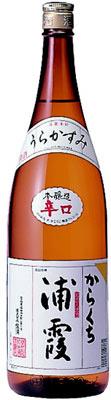 s【送料無料6本入りセット】浦霞 本醸造からくち 1800ml