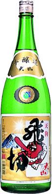 【送料無料6本入りセット】大山 本醸造 飛切 1800ml