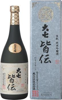 【送料無料6本入りセット】大七 皆伝 生もと純米吟醸 720ml
