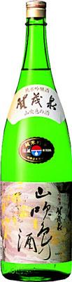 s【送料無料6本入りセット】(広島)賀茂泉 純米吟醸 山吹色の酒 1800ml