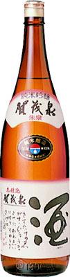 s【送料無料6本入りセット】(広島)賀茂泉 純米吟醸 朱泉本仕込 1800ml