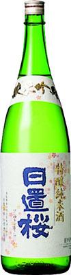 s【送料無料6本入りセット】(鳥取)日置桜 純米吟醸 特醸純米酒 1800ml