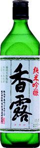 【送料無料6本入りセット】(熊本)香露 純米吟醸 720ml