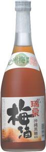 s【送料無料12本入りセット】瑞泉『沖縄黒糖入り梅酒』 12度 720ml