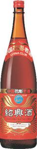 s【送料無料】チャイナクラブ紹興酒・花彫17度 1800ml 6本セット