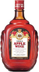 s【送料無料】ニッカアップルワイン 720ML12本セット