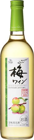 s【送料無料】梅ワイン720ml 12本セット