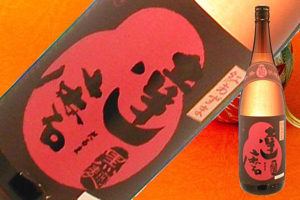 s【送料無料6本セット】達磨(だるま)黒麹 25度 1800ml