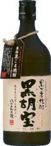 s【送料無料12本セット】<BR>黒ごま焼酎 黒胡宝 25度 720ml