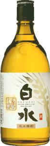s【送料無料12本セット】白水 蔵酵母麦焼酎 25度 720ml