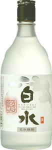 s【送料無料12本セット】白水 華酵母米焼酎 25度 720ml