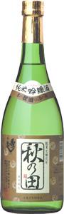 1ケース6本セット秀よし 純米吟醸 秋の田 720ml