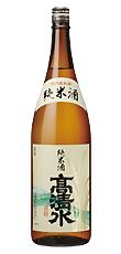 s【送料無料6本入りセット】高清水 酒乃国純米酒 1800ml