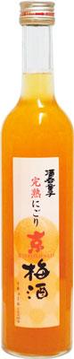 【送料無料12本入りセット】酒呑童子 完熟にごり京梅酒 500ml