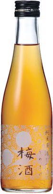 s【送料無料20本入りセット】富久錦 純米原酒でつけた梅酒 300ml