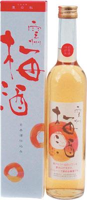 s【送料無料12本入りセット】豊の秋 雲州梅酒(うんしゅううめしゅ) 500ml
