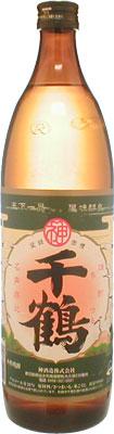 s【送料無料12本入りセット】千鶴 芋焼酎 25度 900ml 神酒造