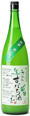 s【送料無料6本入りセット】生すだち酒の素 1800ml 松浦 無添加