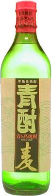 s【送料無料12本入りセット】青酎(あおちゅう)麦焼酎 25度 700ml 箱入り 青ヶ島酒造