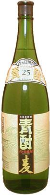 s【送料無料6本入りセット】青酎(あおちゅう)麦焼酎 25度 1800ml 青ヶ島酒造