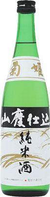 s【送料無料12本入りセット】菊姫 山廃純米 720ml